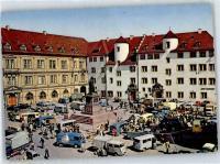 Market Buses at Stuttgart Schillerplatz