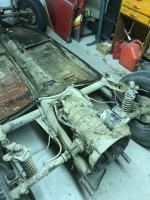 Body off pan 1962 Baja vert