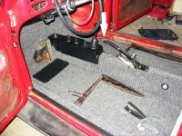 front footwell cable