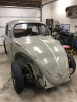 '66 beetle ready for repair
