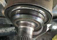 Axle stud issue