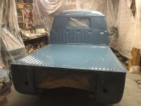 Dove blue truck