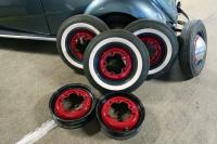 Masking wheels for two color painting