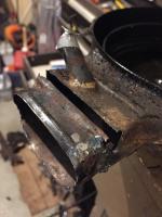 Engine tin repair