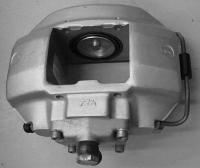 Aligning caliper piston 911S MFI 1970