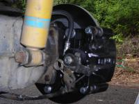 EV Rear Disc Brake Conversion