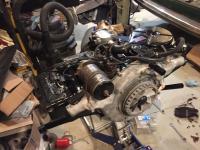 Putting engine together