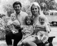Ricky Nelson and family vw bus