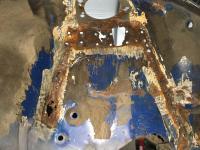 Strut tower rust repair