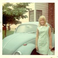 Kathy and her new 68.