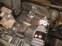 Curil T Oxidation Repair  with K&N Air Cleaner Oil