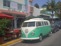 67 westy poptop camper in miami