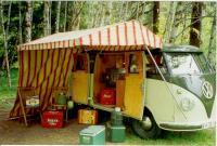 58 and original tent