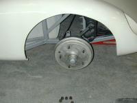 porsche front brake drum