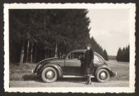 Vintage photo - split window Beetle
