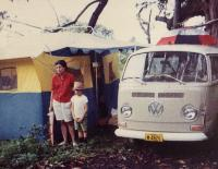 Camping in 1968 Hawai'i