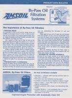 Amsoil By-pass Oil Filtration Systems