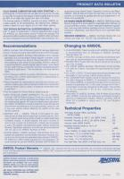 Amsoil synthetic 12 TBN SAE 15W/40 Marine Engine oil - 1991/92 product data