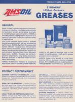 Amsoil lithium-based synthetic greases