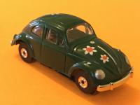 Vintage Aurora Model Motoring VW BEETLE HO Scale Slot Car