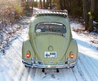 Doug the '60 Bug in some light snow from a few years back...