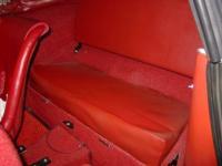Roadster rear seat