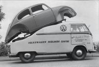 VW dealer truck Nottingham