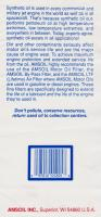 Amsoil synthetic 15W/40 Marine engine oil