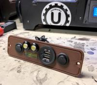 Upperbunk 2 Switch LightPod w/USB and Level