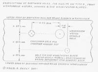 SVD / SWW wash-wiper blades