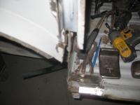 67 DC under 3rd window repair