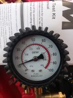 Fuel pressure PSI