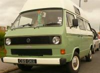 Two tone vanagon green