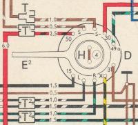 '71 SB steering column wiring