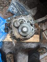 transaxle cover off