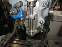 milling machine quill stop