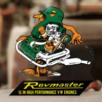 Revmaster Decal