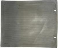 1966 Karmann Ghia Grey Rubber Floor Mat - Rear