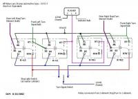 3 wire turn switch with snowflakes conversion relay schematic