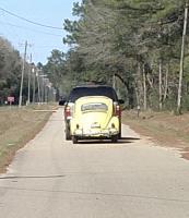 '63 Type 1 Ragtop coming home