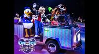 Disney on Ice Road Trip Bay window bus