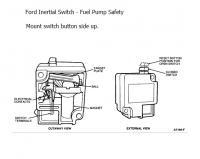 Ford Inertia Fuel Pump Cut-off Switch