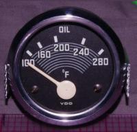 Oil temp gauge