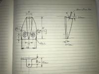 Lowlight Ghia waffle sun visor pivot with dimensions