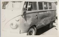 Wrecked Kombi from Western Steel, Inc.