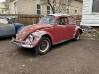 1967 Ruby red beetle