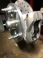 Airkewld Four Piston Brakes for my Oval