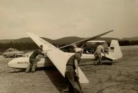 Airplanes and Panelvan with airplane logo