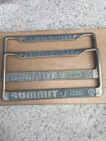 Rare gold victorville summit frames