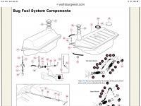Reserve fuel valve